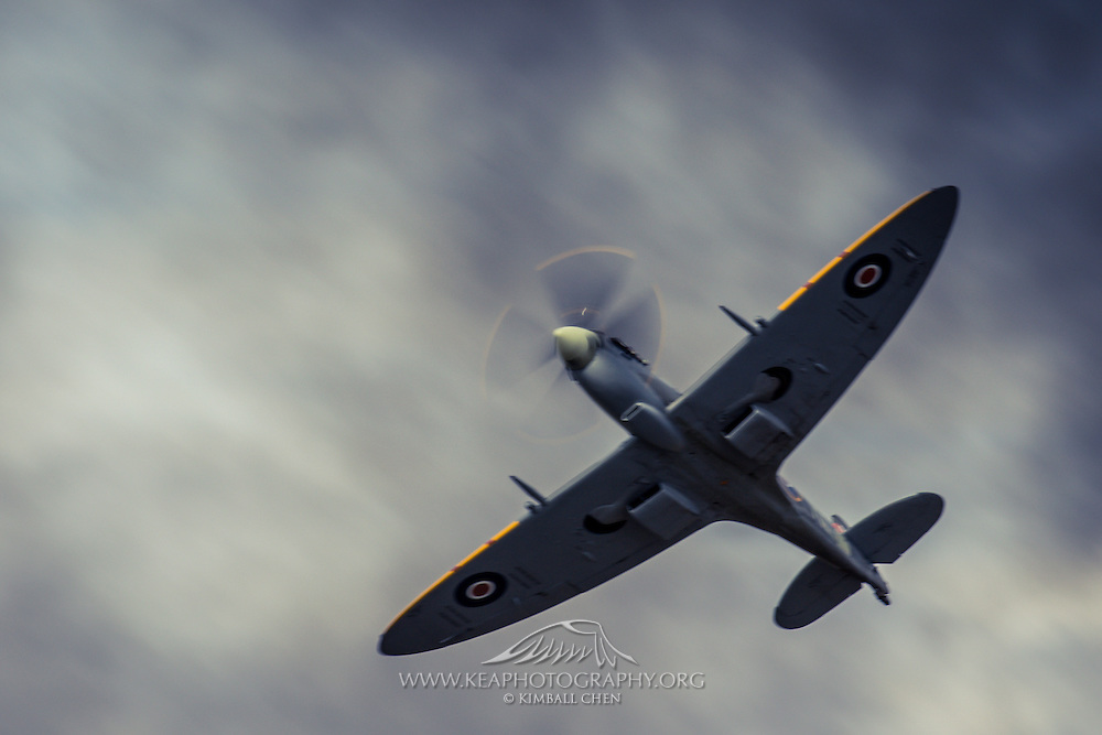 Spitfire at Warbirds over Wanaka 2016, New Zealand