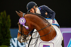 Graves Laura, USA, Verdades<br /> LONGINES FEI World Cup™ Finals Paris 2018<br /> © Hippo Foto - Dirk Caremans<br /> 13/04/2018