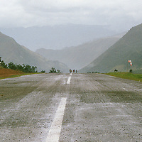 Landing strips and roads are being built to allow access to the natural riches of the most remote parts of Papua. These developments allow newcomers to settle further in the island and indigenous Papuans to travel to towns.This increasing mobility further bolsters the spread of the virus.
