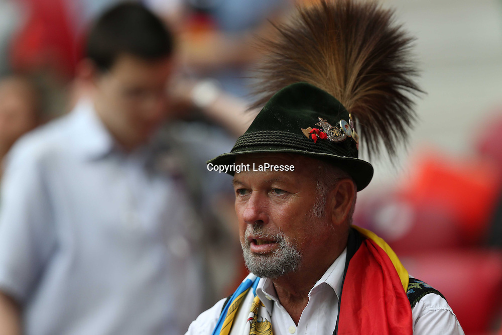 Jonathan Moscrop - LaPresse<br /> 28 06 2012 Varsavia ( Polonia )<br /> Sport Calcio<br /> Europei 2012 Polonia e Ukraina - Semi Finale Germania vs. Italia - Stadio Nazionale di Varsavia<br /> Nella foto: Tifosi della Germania allo stadio<br /> <br /> Jonathan Moscrop - LaPresse<br /> 28 06 2012 Warsaw ( Polonia )<br /> Sport Soccer<br /> Euro 2012 Poland and Ukraine - Semi Final Germany versus Italy - National Stadium Warsaw<br /> In the photo: Germany fans at the stadium