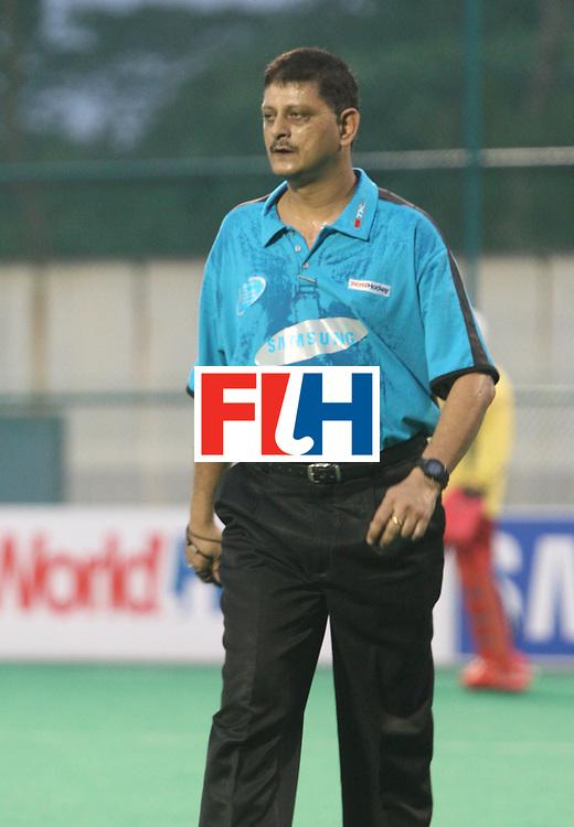 Kuala Lumpur:  Amarjit Singh, Umpire from Malaysia in the Samsung Hockey Men Champions Trophy on Nov 30th, 2007.  Photo:GNN/Vino John