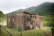 Old Barn, near Anderson Lake, north of Pemberton, British Columbia, Canada.
