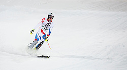27.01.2015, Planai, Schladming, AUT, FIS Skiweltcup Alpin, Schladming, 2. Lauf, im Bild Daniel Yule (SUI) // Daniel Yule (SUI) during the second run of the men's slalom of Schladming FIS Ski Alpine World Cup at the Planai Course in Schladming, Austria on 2015/01/27, EXPA Pictures © 2015, PhotoCredit: EXPA/ Erwin Scheriau