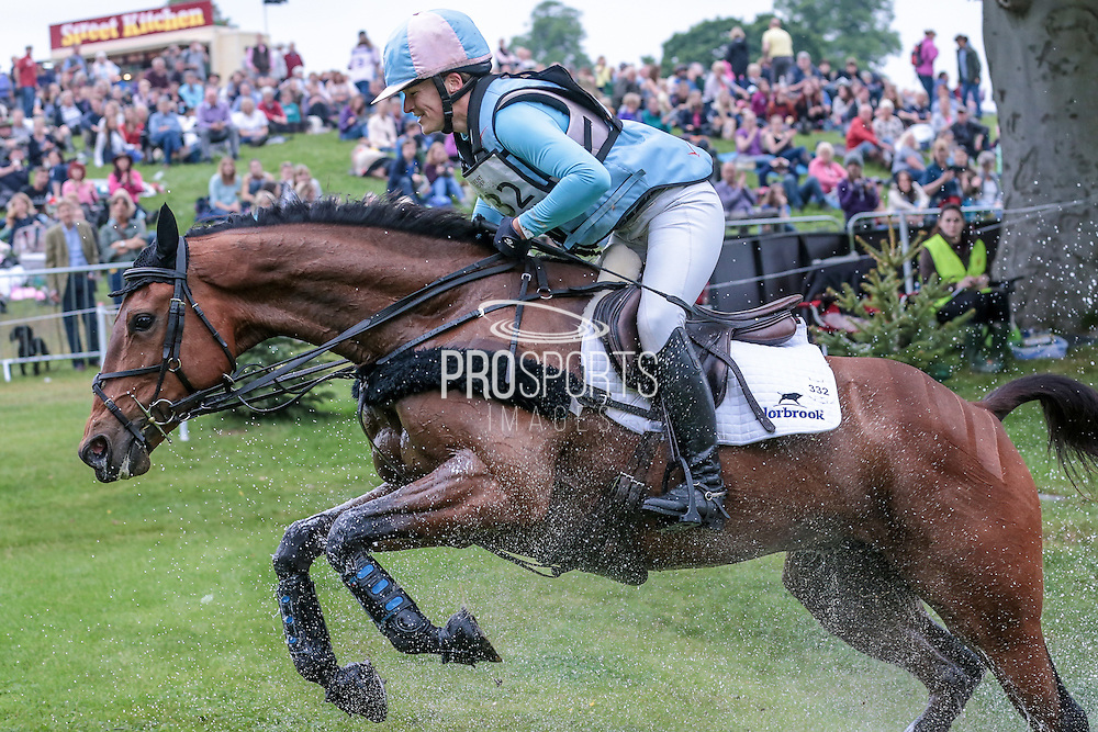TEMPLAR JUSTICE ridden by Katie Preston at Bramham International Horse Trials 2016 at  at Bramham Park, Bramham, United Kingdom on 11 June 2016. Photo by Mark P Doherty.