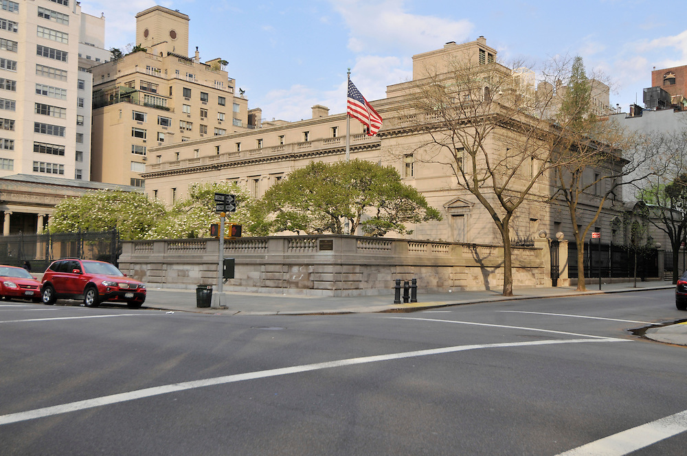 Frick Collection, New York, New York, designed by Carrere & Hastings, Fifth Ave