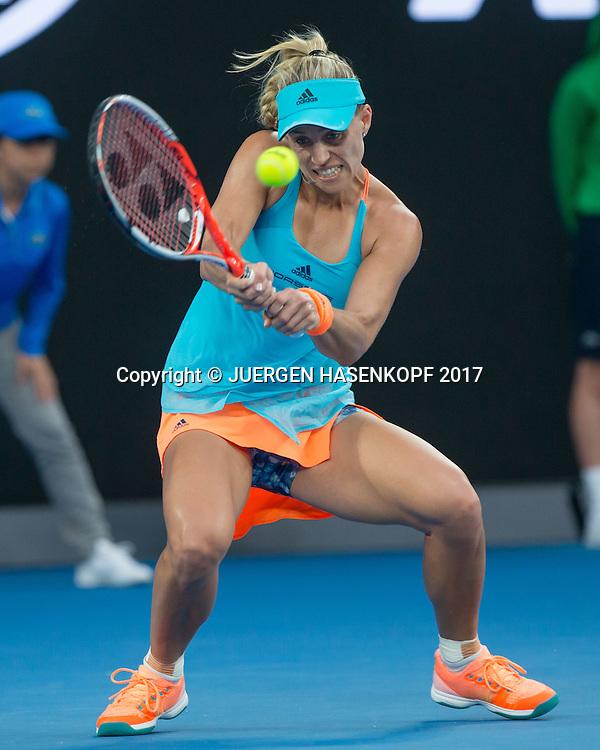 ANGELIQUE KERBER (GER)<br /> <br /> Australian Open 2017 -  Melbourne  Park - Melbourne - Victoria - Australia  - 16/01/2017.