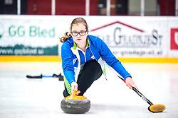 ZAVELJCINA Ajda during Curling Training session U15 on November 24, 2019 in Arena Podmezakla Hall, Ljubljana, Slovenia. Photo by Peter Podobnik / Sportida