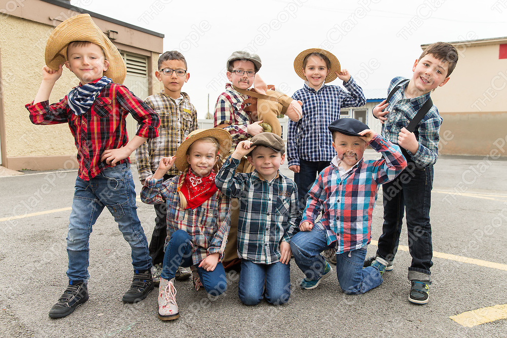 Farmer Joe with friends ready to preform in this years Spring concert in CBS Ennis