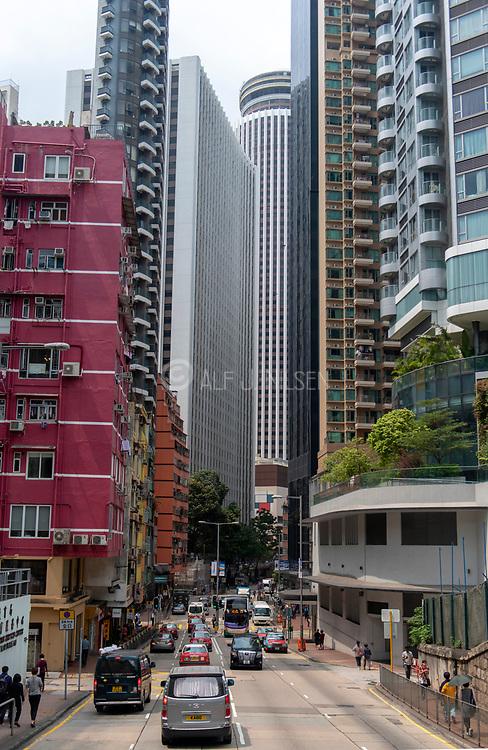 Queens Road, Hong Kong Island.