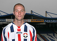 27-05-2008: Voetbal: WillemII- contrackt Danny Schenkel: Tilburg<br /> Danny Schenkel de nieuwe aanwinst voor Willem II