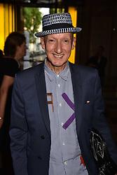 Stephen Jones at the Balenciaga Shaping Fashion VIP Preview, The V&A Museum, London England. 24 May 2017.<br /> Photo by Dominic O'Neill/SilverHub 0203 174 1069 sales@silverhubmedia.com