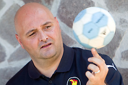 Handball Coach Borut Macek before he is going to be Iran National team coach at his home in Smartno pri Litiji, Slovenia, on July 12, 2010. (Photo by Vid Ponikvar / Sportida)