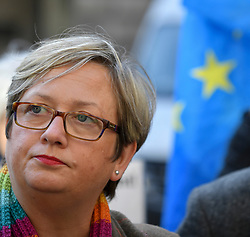 Pictured: MP's Joanna Cherry speaks to the media after the ruling.<br /> <br /> A cross-party group of over 70 politicians today won their appeal before the Court of Session seeking to rule that the UK government and Prime Minister Boris Johnson acted unlawfully in proroguing parliament.<br /> <br /> © Dave Johnston / EEm