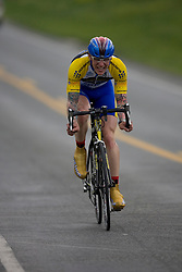Jeff Buckles (SKJ) during stage 1 of the Tour of Virginia.  The Tour of Virginia began with a 4.7 mile individual time trial near Natural Bridge, VA on April 24, 2007. Formerly known as the Tour of Shenandoah, the ToV has gained National Race Calendar (NRC) status for the first time in its five year history.