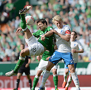 Fussball Bundesliga 2012/13: Bremen - Hoffenheim