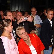 Premiere Stille Nacht, Ted Lenssen fotografeert dochter Caro Lenssen