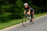 7/29/14 7:38:06 AM -- Washington, DC  -- Paratriathlete Patty Collins rides around Hains Point.  Photo by H. Darr Beiser, USA TODAY staff ORG XMIT:  HB 131463 pattycollins 7/29/2014 (Via OlyDrop)