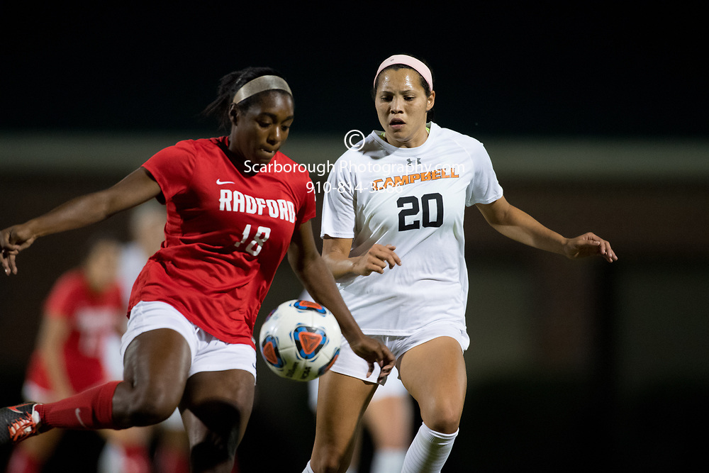 2017 Campbell University Women Soccer vs Radford 1st Round of the Big South Conference