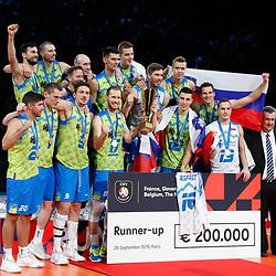20190929: FRA, Volleyball - CEV Eurovolley 2019, Final, Serbia vs Slovenia