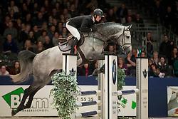 Romp Jesper, NED, Hermantico<br /> Springen Klasse L<br /> KWPN Hengstenkeuring 2017<br /> © Dirk Caremans<br /> 02/02/17