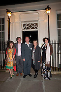 LAUREN BAKER; BEN FERRER; CHRISTIAN COTTON; HELEN COGGINS; VICTORIA SHENTON, , Streetsmart Reception at 11 Downing St. London. 1 November 2011. <br /> <br />  , -DO NOT ARCHIVE-© Copyright Photograph by Dafydd Jones. 248 Clapham Rd. London SW9 0PZ. Tel 0207 820 0771. www.dafjones.com.