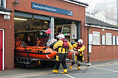 RNLI Lifeboat Launch