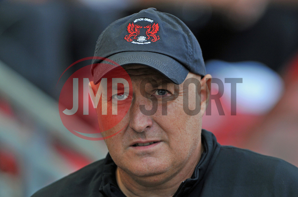 Leyton Orient Manager, Russell Slade - photo mandatory by-line David Purday JMP- Tel: Mobile 07966 386802 09/08/14 - Leyton Orient v Chesterfield - SPORT - FOOTBALL - Sky Bet Leauge 1 - London -  Matchroom Stadium