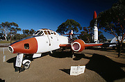 Planes and missiles tested in Woomera on display.