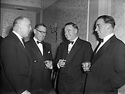 30/01/1958<br /> 01/30/1958<br /> 30 January 1958<br /> <br /> Irish Motor Trades Society Dinner at the Gresham Hotel. Count Cyril McCormack, second from right.