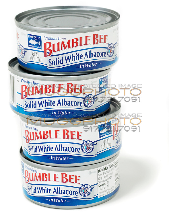 canned tuna stack