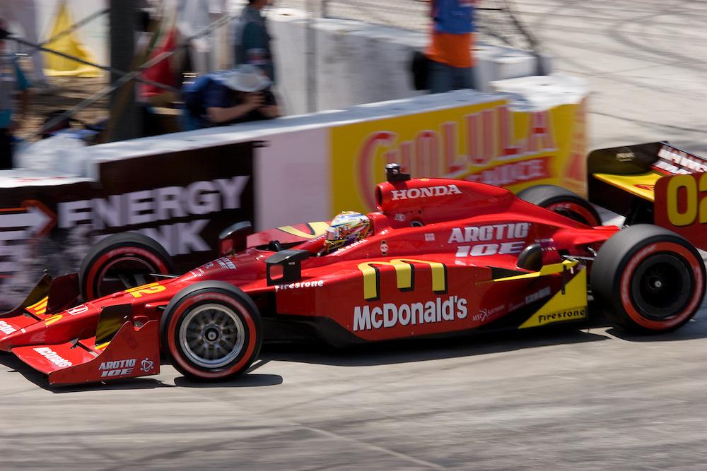 finished 8 Long Beach Grand Prix 09