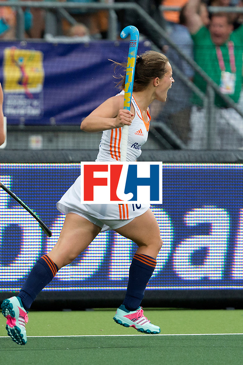 THE HAGUE - Rabobank Hockey World Cup 2014 - 07-06-2014 - WOMEN - AUSTRALIA - THE NETHERLANDS 0-2 - Kelly JONKER.<br /> Copyright: Willem Vernes