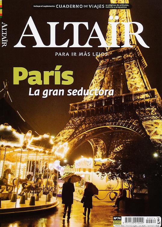 Altaïr: Cover (November 2011)