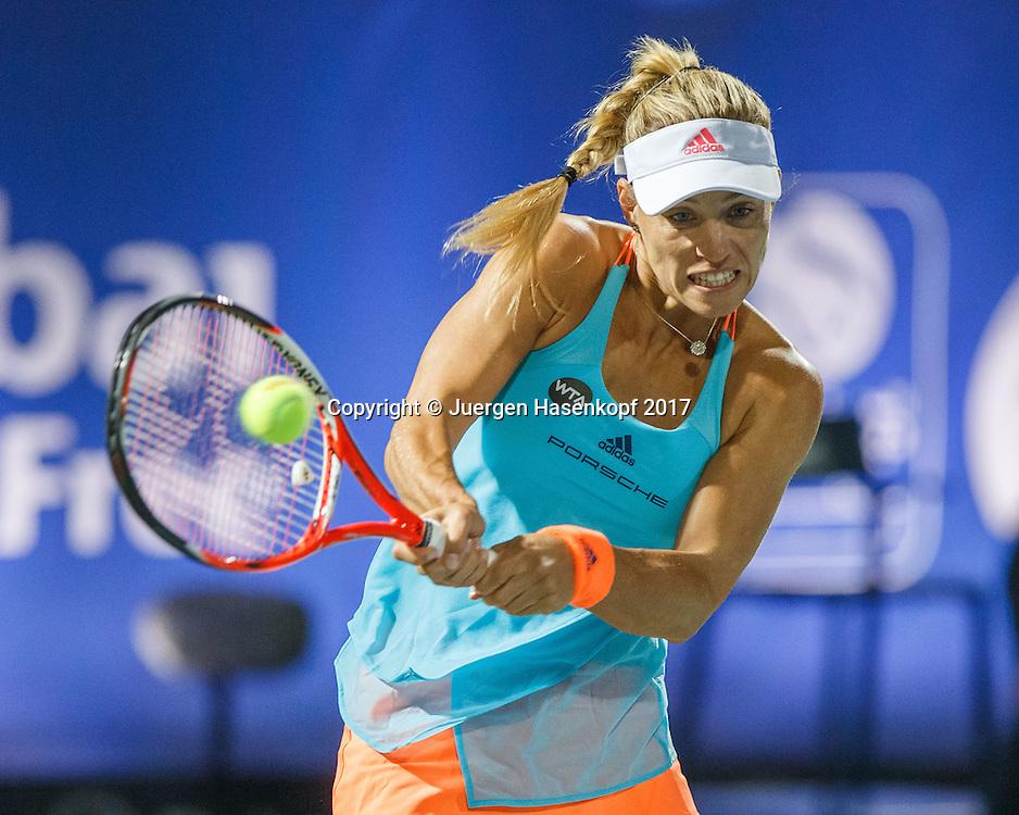 ANGELIQUE KERBER (GER)<br /> <br /> Tennis - Dubai Tennis Championships 2017 -  WTA -  Dubai Duty Free Tennis Stadium - Dubai  -  - United Arab Emirates  - 22 February 2017.