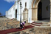 Grece, Cyclades, ile de Tinos, la capitale Hora, eglise de la Panagia Evangelistria // Greece, Cyclades islands, Tinos, Hora city, Panagia Evangelistria church