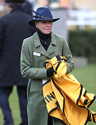 Rachel Trice-Rolph during Gold Cup Day of the 2018 Cheltenham Festival at Cheltenham Racecourse.