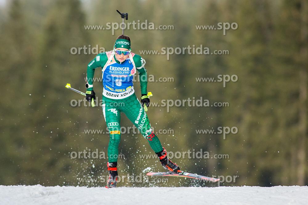 Dorothea Wierer (ITA) during Women 15km Individual at day 5 of IBU Biathlon World Cup 2018/19 Pokljuka, on December 6, 2018 in Rudno polje, Pokljuka, Pokljuka, Slovenia. Photo by Ziga Zupan / Sportida