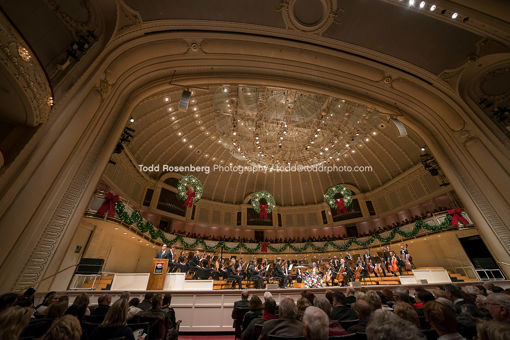 12/30/17 2:33:53 PM -- Chicago, IL, USA<br /> Attila Glatz Concert Productions' &quot;A Salute to Vienna&quot; at Orchestra Hall in Symphony Center. Featuring the Chicago Philharmonic <br /> <br /> &copy; Todd Rosenberg Photography 2017