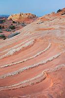Dusk over South Coyote Buttes, Vermilion Cliffs Wilderness Utah