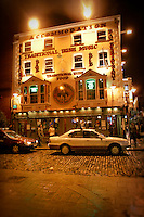 The Oliver St. John Gogarty bar in Dublin, Ireland