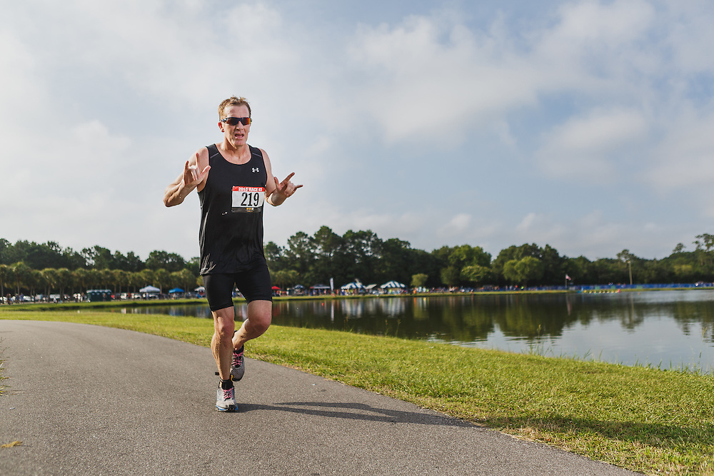 Images from the 2015 Charleston Sprint Triathlon Series Race #3 at James Island County Park in Charleston, South Carolina.