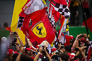 September 4, 2016: Tifosi at Monza , Italian Grand Prix at Monza