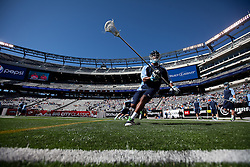 10 April 2010: North Carolina Tar Heels defenseman Milton Lyles (29) before playing the Virginia Cavaliers at the New Meadowlands Stadium in the Meadowlands, NJ.
