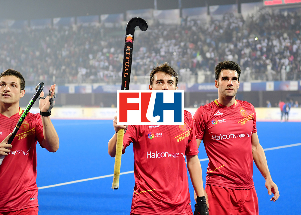 Odisha Men's Hockey World League Final Bhubaneswar 2017<br /> Match id:11<br /> Argentina v Spain<br /> Foto: Marc Perrellon (Esp) <br /> COPYRIGHT WORLDSPORTPICS FRANK UIJLENBROEK