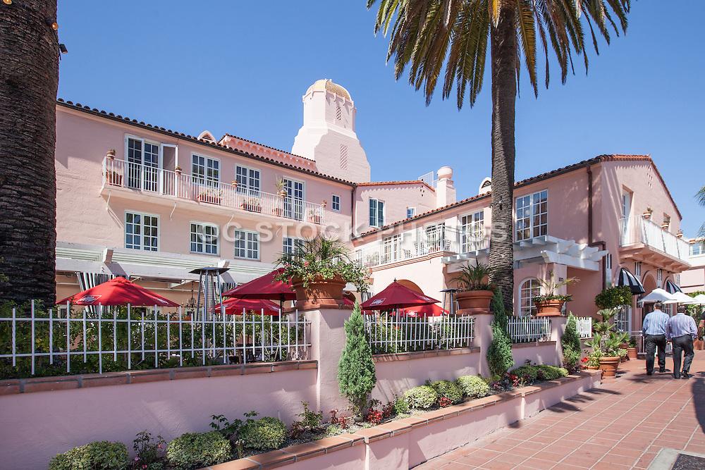 La Valencia Hotel on Prospect St. in La Jolla California