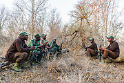 Rhino Security Patrol, Hlane Royal National Park, Swaziland