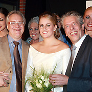 NLD/Mijdrecht/20070901 - Modeshow Jaap Rijnbende najaar 2007, Anna Verdonk, Jaap Rijnbende en partner Henk Verhoeven