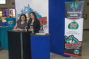 KELOWNA, CANADA - MARCH 10:  BC Tree Fruits Promotion at the Kelowna Rockets game on March 10, 2017 at Prospera Place in Kelowna, British Columbia, Canada.  (Photo By Cindy Rogers/Nyasa Photography,  *** Local Caption ***