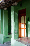 Entrance to a home in Nagapattinam.