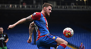 Connor Wickham with the control during the Final Third Development League match between U21 Crystal Palace and U21 Bristol City at Selhurst Park, London, England on 3 November 2015. Photo by Michael Hulf.